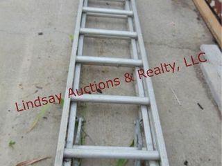 18  alum ext ladder