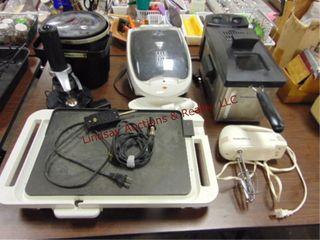 6 pcs kitchen items  procter silex 5 mixer