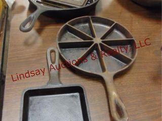 4 pcs cast iron