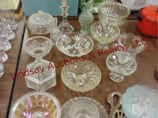 Group of misc glassware SEE PICS