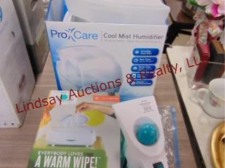 Wipe warmer  steamer for clothes  humidifier