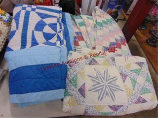 3 quilt blankets
