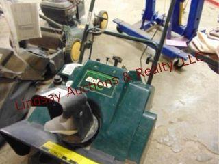 Bolens 322 snowblower  untested motor free