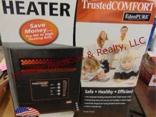 Quartz infrared heater WORKS
