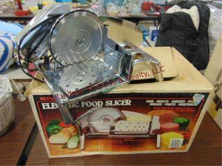 Rival elec meat slicer