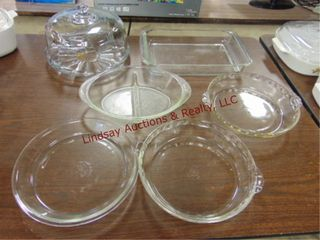 6pcs glass  Anchor Hocking  pyrex    other