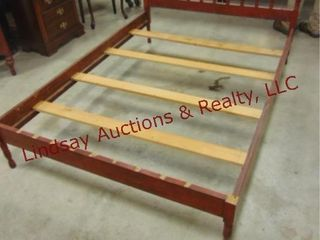 Wood full size bed frame 77 x 54