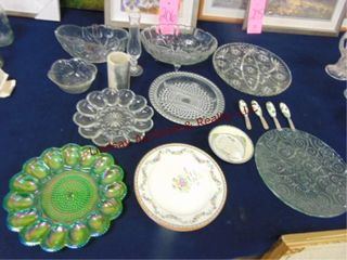 Approx 20 pcs glass   others  egg plate