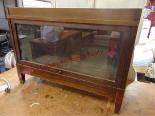 wood sectional book case  only 1 section