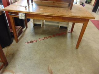 wood library table worktable w  outlets 60x 32 x31