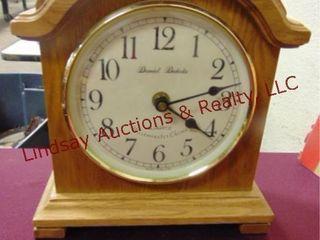 Daniel Dakota mantle clock