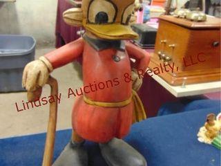Vintage duck figurine