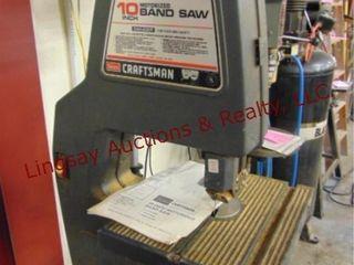 Sears Craftsman 10  motorized band saw 7amps