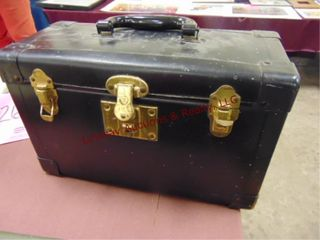 Vintage Golden Star wood stain in carry box w