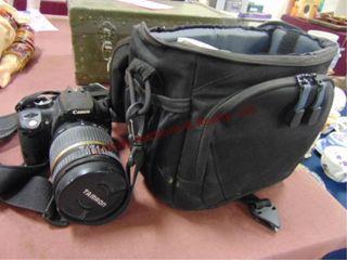 Canon EOS 350D Digital Rebel XT camera w
