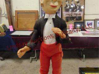 Vintage butler doll