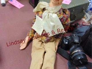 Vintage ventriloquist doll