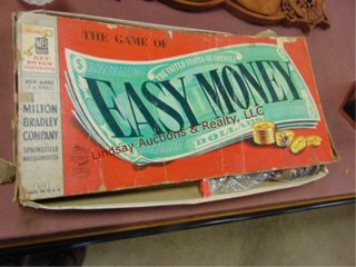 The game of Easy Money  may not be complete