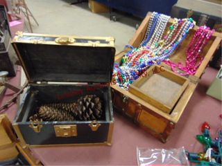 2 chests  1 w  pine cones  1 w  beads
