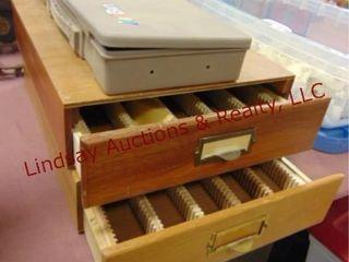 3 slide drawers