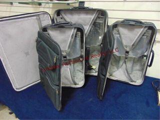 3pc American Tourister luggage set
