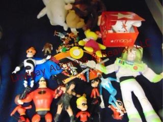 Group of toys  The Incredibles  Buzz light year