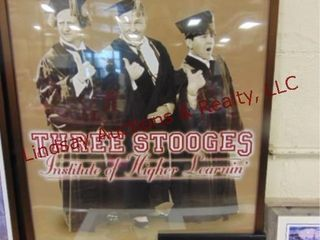 2pcs The Three Stooges