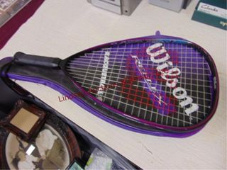 Wilson Raquetball racquet w  case