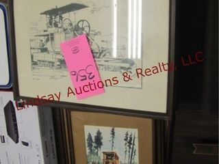10 framed pictures SEE PICS