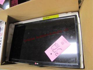 lG 24  flatscreen tv  no cord or remote