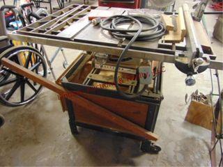 Craftsman table saw