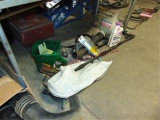 Craftsman elec blower  pwr washer wand
