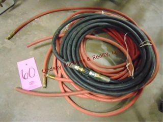 Stack of air hoses  NEED REPAIR