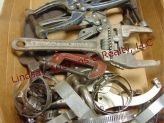 Flat of clamps   other