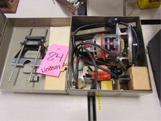 Powr Kraft elec router in case