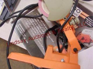 Chicago Elec chainsaw sharpener