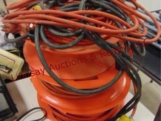 Ext cords   reels