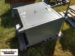 All steel cabinet, 2 x 3 x 3' high