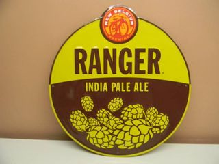 NEW BELGIUM BREWING RANGER INDIA PALE ALE TIN SIGN - APPROX 20