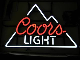 NEW IN BOX!!!!! ONLY OPENED FOR PICTURES!!!!! - COOR'S LIGHT LED LIGHT - ANOTHER AWESOME PIECE FOR THE CAVE!!!!! - APPROX 24