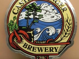 CASTLE DANGER BREWERY TIN SIGN - VERY COOL SIGN!!!!! - APPROX 23