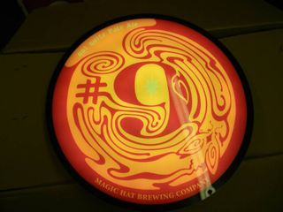 MAGIC HAT BREWING (WORKS!) - APPROX 16