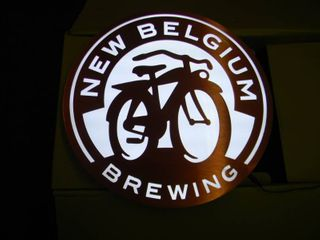 NEW BELGIUM BREWING LED LIGHT - APPROX 16