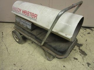 REDDY HEATER FORCED AIR KEROSENE HEATER, 100,000 BTU