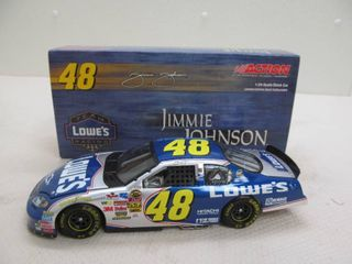 Jimmy Johnson Scale stock car