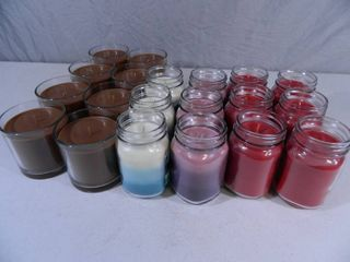 20 New Soy Blend Candles