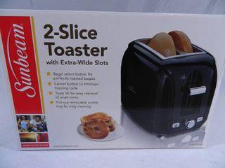 New Sunbeam Toaster