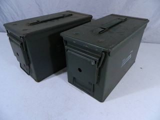 Pair of 50 Cal. US Military Ammo Cans
