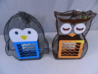 2 New Suet / Seed Bird Feeders