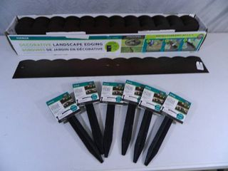 New Case of Metal Decorative Landscape Edging and New Edging Stakes